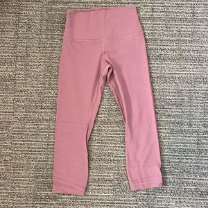 Practically New lululemon cropped align leggings